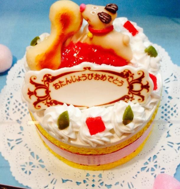 愛犬のバースデーをケーキでお祝い!|犬のケーキをオーダーできる店